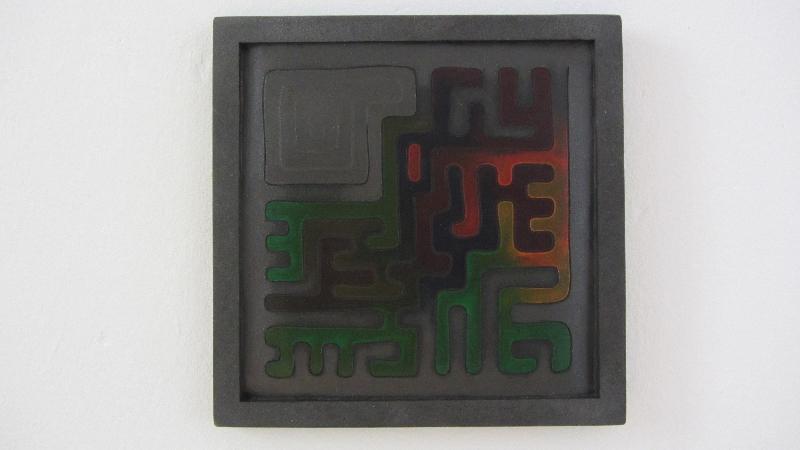Camaleón. 2012. 30 x 30 cm.