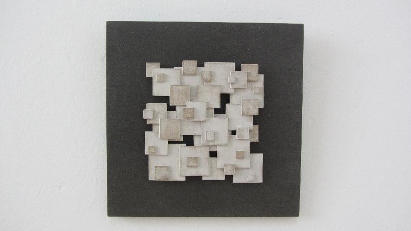 Colapso al cuadrado. 2011. 30 x 30 cm.