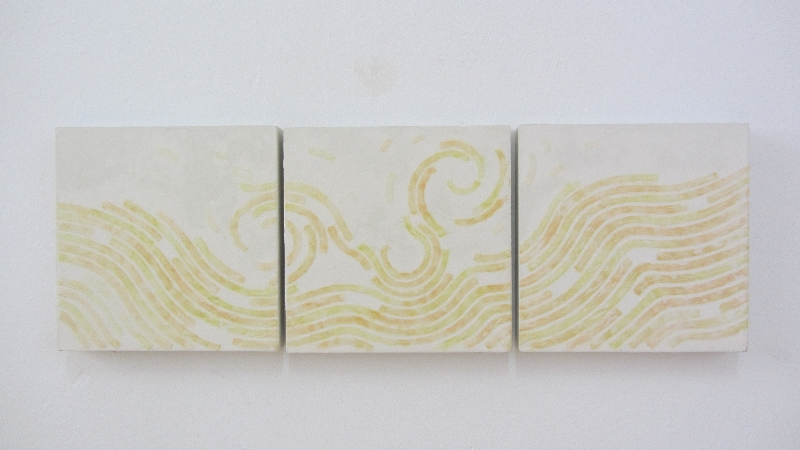 Gota. 2005. 3 x 30 x 30 cm.