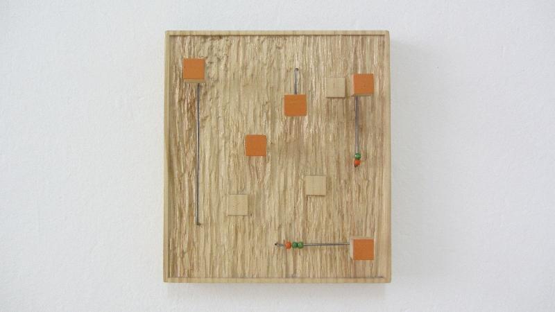 Sembrar y recoger. 2009. 23 x 26 x 7 cm.